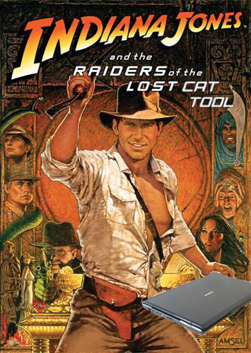 raiders of the lost cat tool