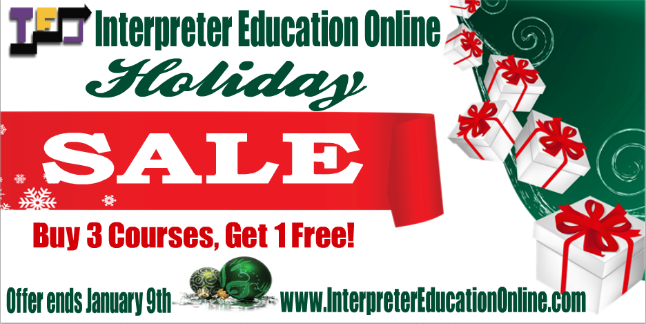 IEO Holiday Sale