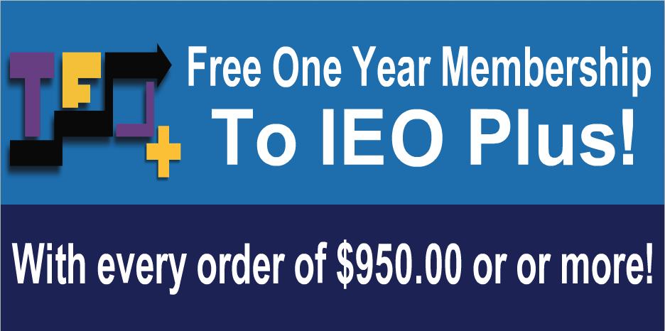 IEO Plus promo