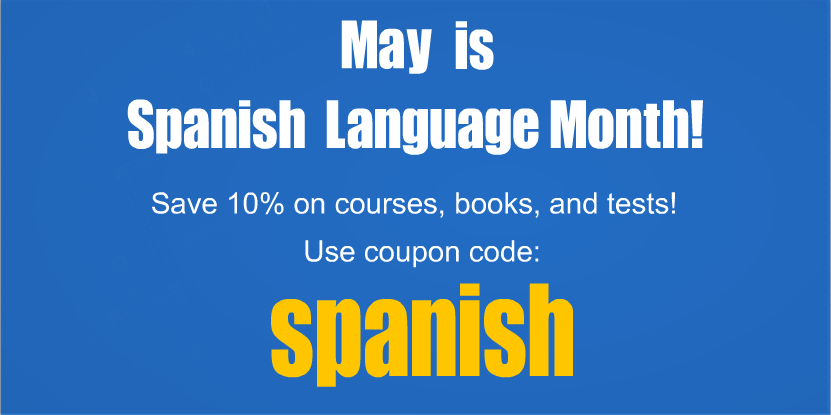 May is Spanish Language Month!